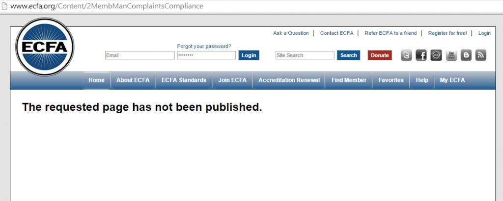 ECFANoComplaintsPage