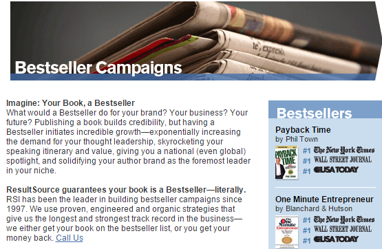 bestsellercampaign