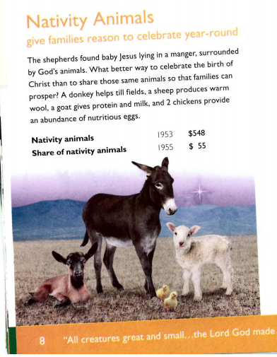 Pop Quiz: When You Buy a Goat from World Vision, Who Gets