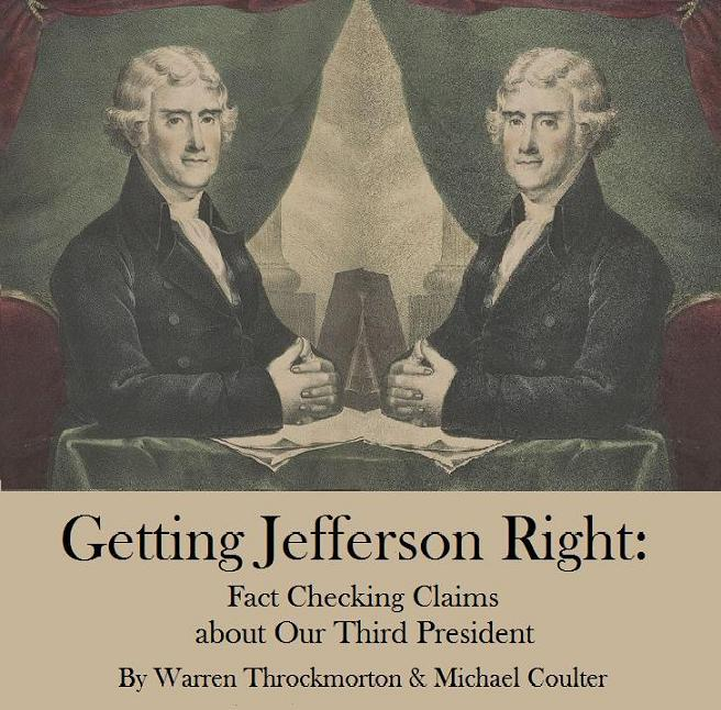 Cover of Getting Jefferson Right, used by permission