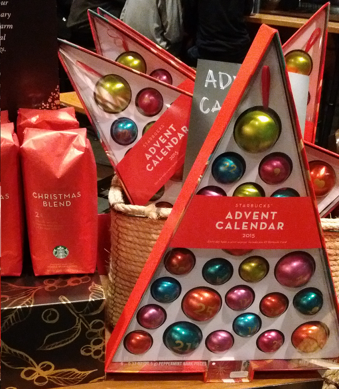 Starbucks Advent CB