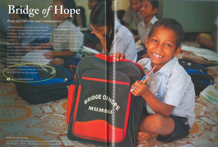 Bridge of Hope BC program