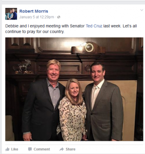 Robert Morris and Ted Cruz Wilks Bros