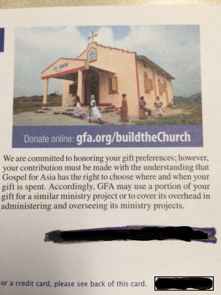 GFA build a church 2016