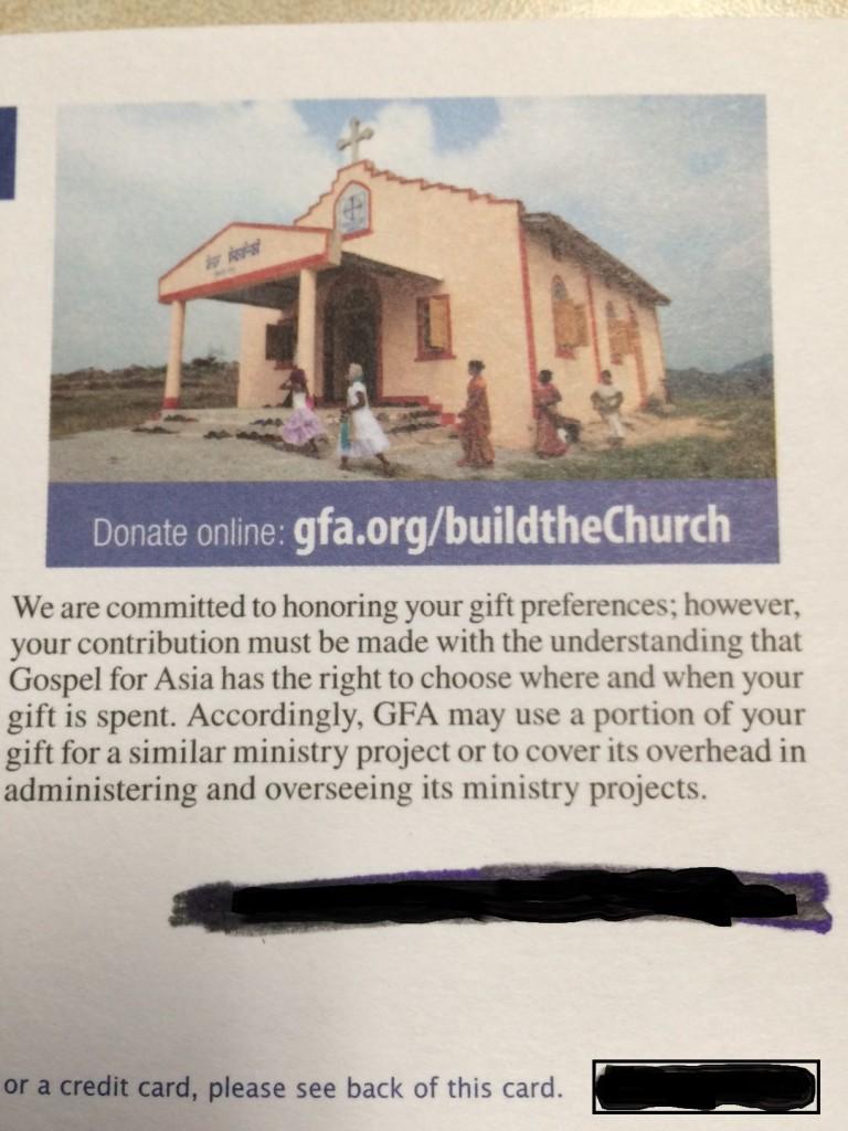 GFA build a church 2016