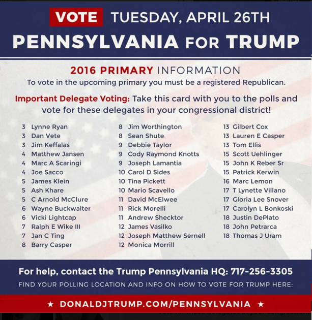PA for Trump