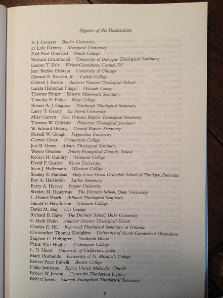 Declaration signers pg 5