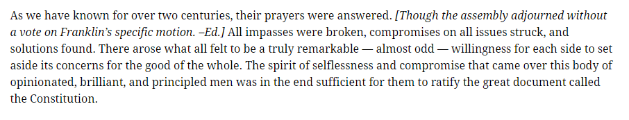 Metaxas franklin article paragraph