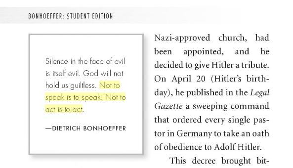 The Popular Bonhoeffer Quote That Isnt In Bonhoeffers Works
