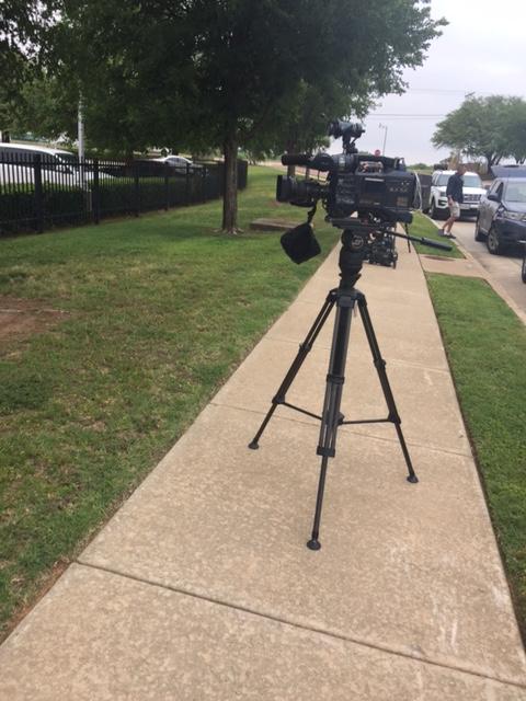 News Cameras Waiting