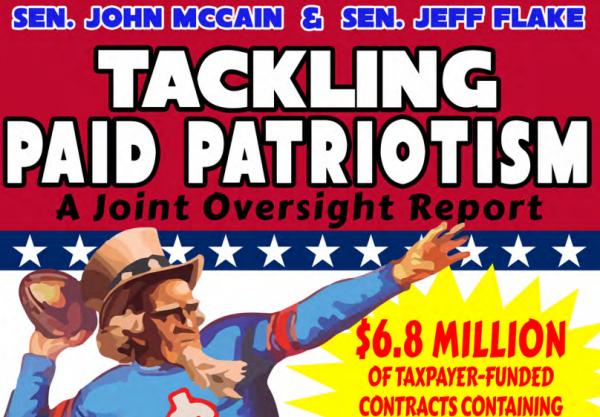 Paid Patriotism