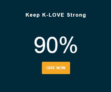 KLOVE percent