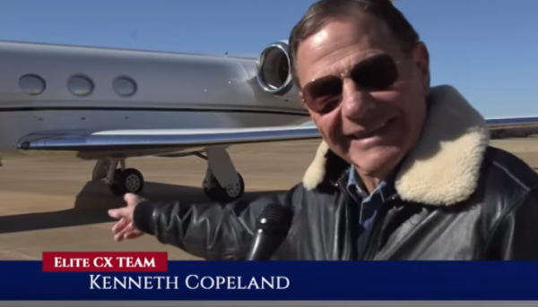 Kenneth Copeland Jet
