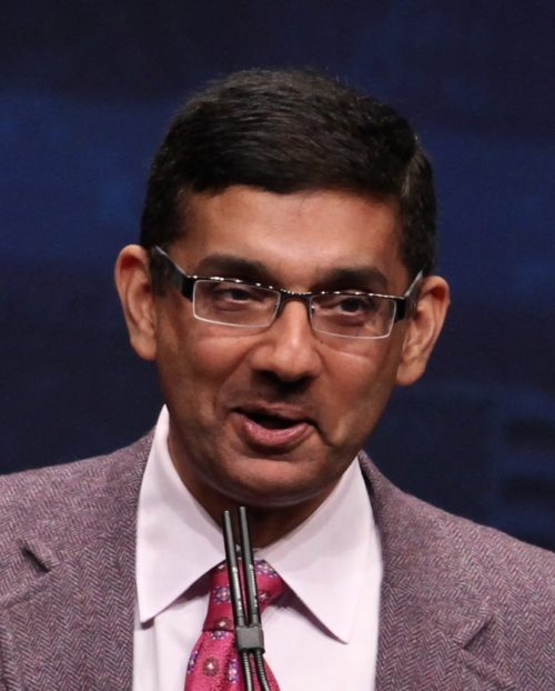 Donald Trump Pledges to Pardon Dinesh D'Souza