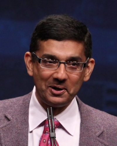 A Teachable Moment: Dinesh D'Souza Refuses to Take Back False Claim about Republicans Owning Slaves in 1860 (UPDATED)