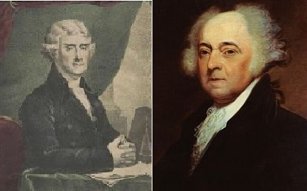 On July 4, 1826, Thomas Jefferson and John Adams Died – Happy Independence Day