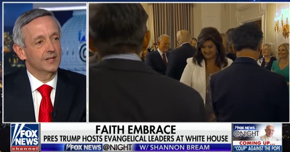 Image result for photos evangelicals in white house