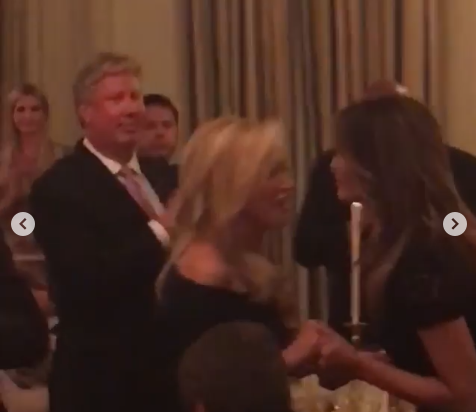Court Evangelicals in Attendance at the August 27, 2018 State Dinner