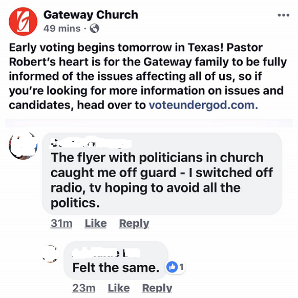 Gateway Church – Warren Throckmorton
