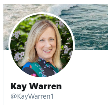 Kay Warren Shows the Boys How to Do It
