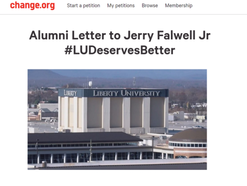 Petition from Former Athletes and Alums Calls on Falwell to Retract Blackface/KKK Mask Tweet