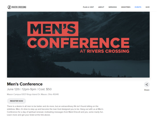 Would You Pay $50 to Get Man Lessons from Mark Driscoll?